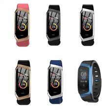 E18 Smart Bracelet Wrist Band Heart Rate Blood Pressure Monitor Fitness Tracker