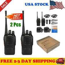 Two Way Radios Walkie Talkie Motorola Frs Gmrs Radio Midland Handheld 2 Pcs NEW*