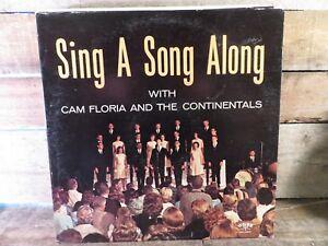 CAM FLORIDA & Continentals Sing A Song Along LP Record Album Vinyl