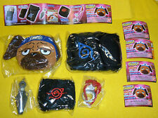 NARUTO NARUKIRI full GADGET set COLLECTION Gashapon BANDAI JAPAN PEN POCKET RING