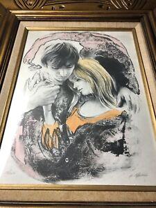 Original Art M.MAURICE Signed Lithograph