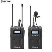 BOYA BY-WM8 Pro K1 UHF Wireless Microphone MIC System Dual Channel Laval NJ