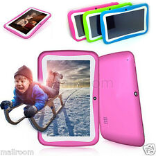 "7"" HD Android 4.4 KitKat Quad-core 8GB Kid Tablet PC WiFi Dual Kamera für Kinder"