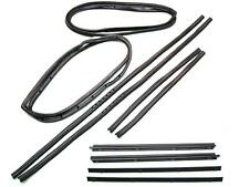 JEEP DOOR WEATHER STRIP SEALS 10 PC BOTH DOORS 1987-1995 YJ, MOVING VENT STYLE