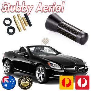 Stubby Bee Sting Black Carbon Fiber Antenna Aerial for Mercedes Benz SLK X Class