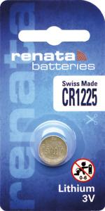 10 x Renata CR1225 Batteries, Lithium, Swiss Made , 1225