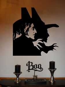 Wizard of Oz Wicked Witch of the West Vinyl Wall Sticker Decal