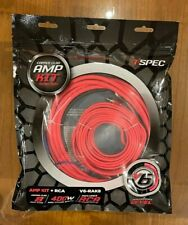T-Spec® V6-Rak8 - V6 Series 8 Awg 400W Rated Amplifier Wiring Kit
