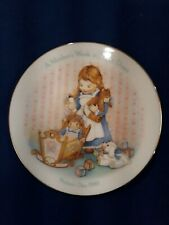 "Avon 5"" Mothers Day Plate -1988- ""A Mother's Work Is Never Done"""