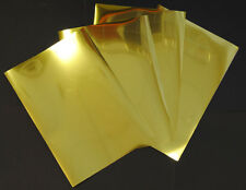 Gold Metallic Glossy Inkjet Printable Adhesive Film 50 A4 Sheets 100 Micron