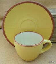 Vintage Imusa Set of 2 Coffee Espresso Demi Tasse Cups and Saucers 4 Pieces