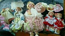 Porcelain Doll Lot Heritage Signature Collection