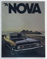1974 Chevrolet Nova Canadian Sales Brochure