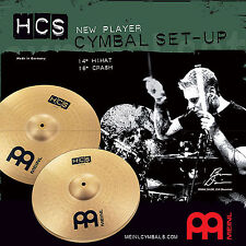 Meinl HCS HCS1416 Beckenset Cymbal Set 14 Hihat / 16 Crash