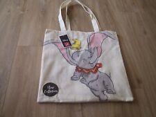 Disney Dumbo  Elephant Tote Shopper Bag New