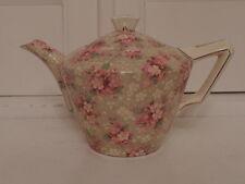 Vintage Crown Ducal Ware Chintz Priscilla 2 Cup Teapot 1940's Rare!