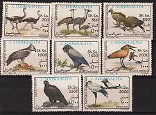 SOMALIA SOMAALIYA 1993 Serie Uccelli 8 Valori Yvert 403-10 MNH**