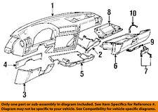 BMW OEM 87-91 325i Instrument Panel Dash-Lower Trim Panel Left 51451917351