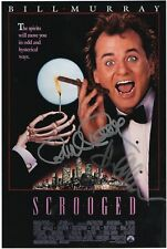 Karen Allen Richard Donner Cinema Signed Photo Scrooged S.O.S. Fantasmi Coa