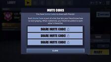 Fortnite Battle Royale Mobile iOS  Friend Code Invite Instant Delivery