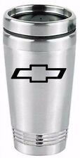 chevy chevrolet tumbler travel cup coffee drink stainless steel mug beverage