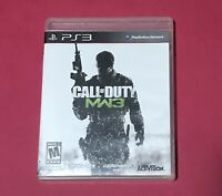 CALL OF DUTY MODERN WARFARE 3 PS3 PLAYSTATION 3 MANUAL COMPLETE FREE SHIPPING