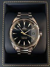 Omega Seamaster Aqua Terra 150M James Bond limited edition men's wrist watch