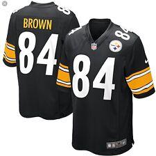 Nike Nfl Pittsburgh Steelers Game Jersey Antonio Brown Medium (42�) 468972-018