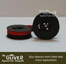 REMINGTON DeLuxe Noiseless Portable typewriter ribbon - Black & Red, Quality