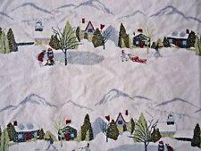 Eddie Bauer Twin Flannel Sheet Set Winter Cabin 5 pieces