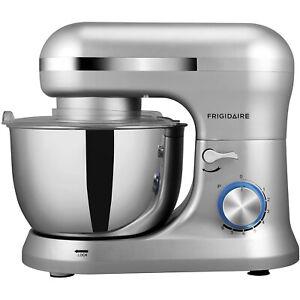 Frigidaire 4.5 L Stand Mixer, 8 Speeds, Dough Hook, Metal Whisk ESTM020-SILVER