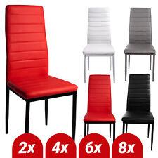 Esszimmerstühle SET Stuhl Küchenstuhl Wohnzimmerstühle Kunstleder Stühle