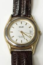 Belair Automatic ETA 2824-2 10 Microns 18k Electroplate Vintage Watch Swiss Made