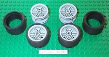 Lego Wheels and Tires 37 x 22 ZR Medium 8635 Car Truck