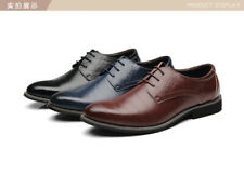 Mens Leather Lace Up  Formal Smart Casual Office Dress Shoes Sizes