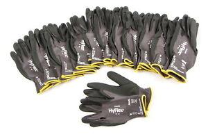 NEU Original ANSELL AN11840GR8012 Handschuh Hyflex 11-840 Gr8 12er Pack