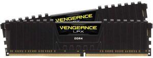Corsair CMK16GX4M2D3000C16 Vengeance LPX 16 GB (2 X 8 Gb) DDR4 Memory - Black