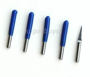 5pc 3.175 x 0.2mm Engraver 10 Degree PCB Engraving Drill Bit CNC Router Tool Cut