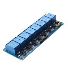MODUDO RELE' 8 CANALI 5V PER ARDUINO 8051 PIC ARM AVR DSP G2T7