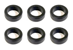 Fuel Injector Lower Cushion Ring Seal for Nissan V6 - Set of 6