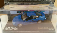 "DIE CAST "" OPEL CALIBRA V6 1993 - 1997 "" OPEL COLLECTION SCALA 1/43"