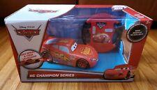 "Disney Pixar Cars RC Champion Series McQueen Remote Control Car 49 MHZ  ""NEW"""