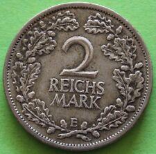 ALLEMAGNE 2 REICHSMARK 1926 E