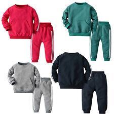 Kinder Trainingsanzug Sportanzug Langarm Hoodie Sweatshirts und Lange Sporthose