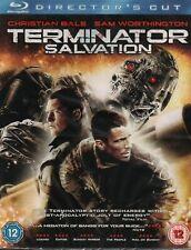 TERMINATOR SALVATION - Christian Bale - Blu-Ray *NEW & SEALED* *Director's Cut*