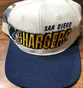 Vintage 90s Sports Specialties San Diego Chargers NFL Pro Line Snap Back R2