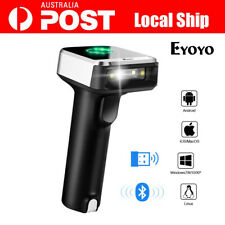 Wireless Bluetooth4.1 & 2.4G Barcode Scanner Code Reader For IOS/Android/Win7/8