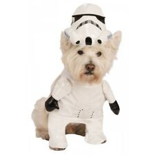 Storm Trooper Costume Pet Star Wars Halloween Fancy Dress