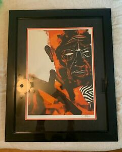 """Dave Kinsey """"Momentum"""" Signed & Numbered Screen Print 2007"""