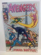 The Avengers #71 (Dec 1969, Marvel), VF, Captain America, Very Fine condition *
